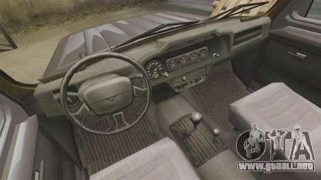 315195-UAZ Hunter para GTA 4 vista interior