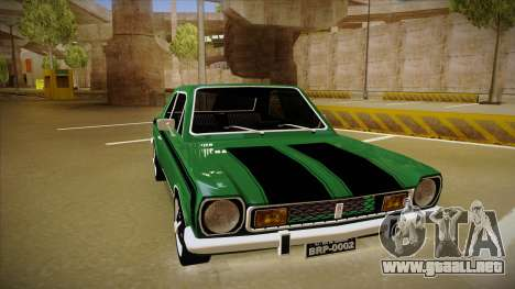 Ford Corcel GT 1975 para GTA San Andreas left