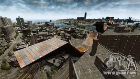 Rampa de GTA IV para GTA 4 quinta pantalla