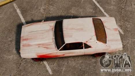 Nuevo color para Vigero oxidado para GTA 4 visión correcta
