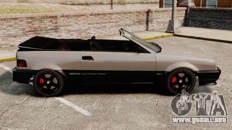 La versión convertible del Blista para GTA 4 left