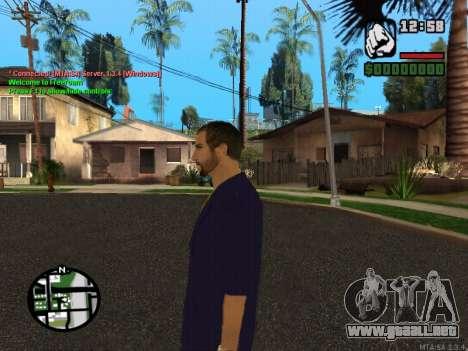 New Andre para GTA San Andreas sucesivamente de pantalla