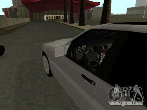 Mercedes-Benz W140 S600 para la visión correcta GTA San Andreas