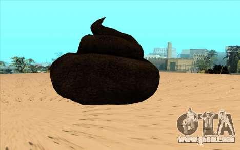 Basura voladora para GTA San Andreas left