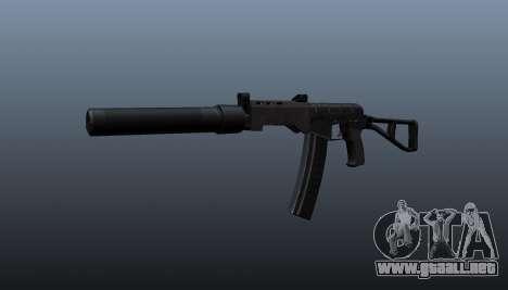 SR-3 Vikhr subfusil ametrallador v3 para GTA 4