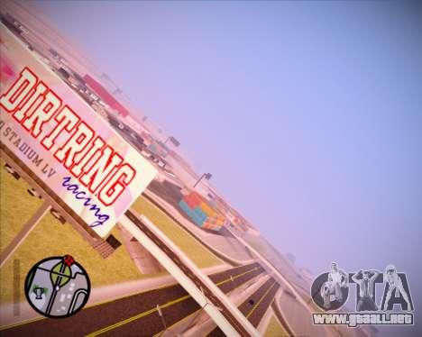SA Graphics HD v 1.0 para GTA San Andreas sucesivamente de pantalla