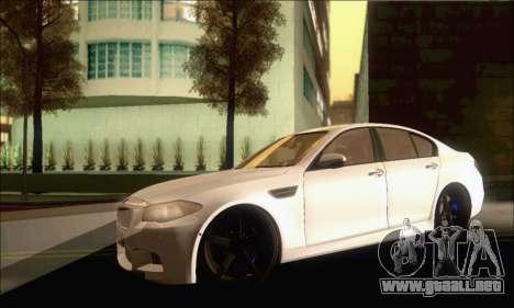 BMW M5 Vossen para GTA San Andreas left