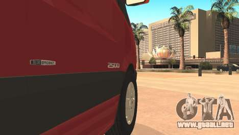 Mercedes-Benz Sprinter para GTA San Andreas left