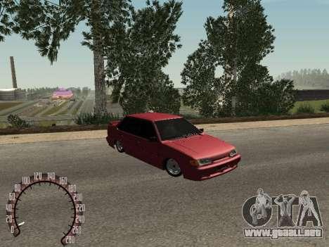 BPAN VAZ 2115 para GTA San Andreas left