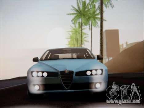 Alfa Romeo 159 Sedan para visión interna GTA San Andreas