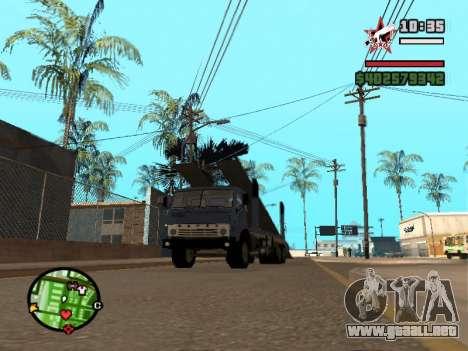 Camión KAMAZ 43085 para GTA San Andreas left