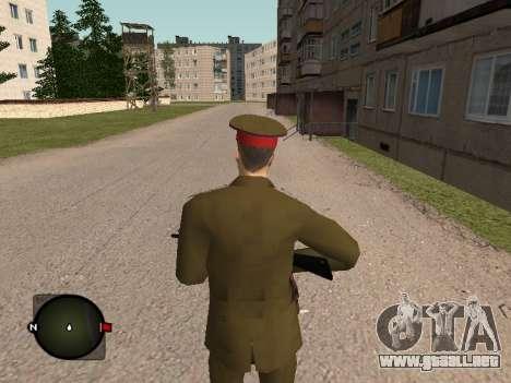 Comandante General del ejército ruso para GTA San Andreas tercera pantalla