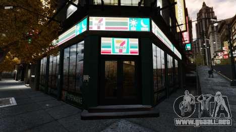 Tiendas reales v2 para GTA 4 sexto de pantalla