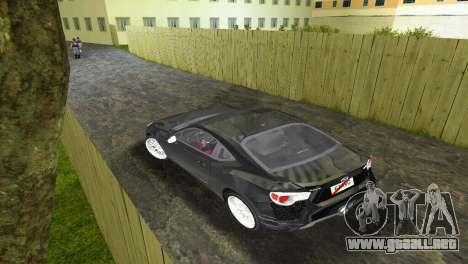 Subaru BRZ Type 2 para GTA Vice City visión correcta