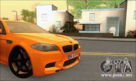 BMW M5 Vossen para visión interna GTA San Andreas