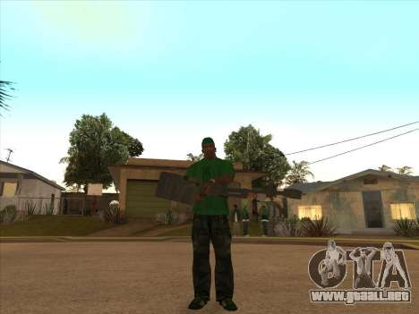 KORD para GTA San Andreas sucesivamente de pantalla