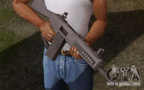 La escopeta AA-12 para GTA San Andreas segunda pantalla