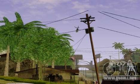 ENBSeries for Medium PC para GTA San Andreas sucesivamente de pantalla