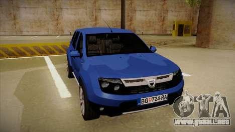 Dacia Duster SUV 4x4 para GTA San Andreas left