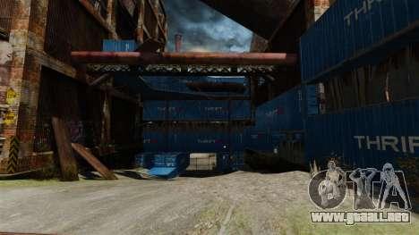Una base defensiva para GTA 4 segundos de pantalla