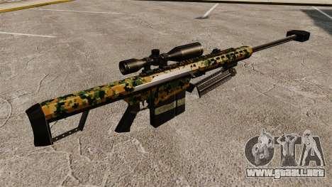 El francotirador Barrett M82 rifle v13 para GTA 4 segundos de pantalla