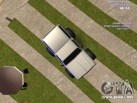 Rancher Monster para la visión correcta GTA San Andreas