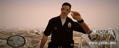 Los Angeles Police Officer para GTA San Andreas segunda pantalla