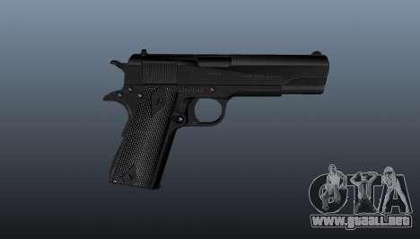 Pistola M1911 v1 para GTA 4 tercera pantalla