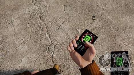 Temas de Rock gótico para su teléfono para GTA 4 adelante de pantalla