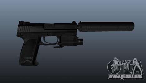 Pistola HK USP 45 para GTA 4 tercera pantalla