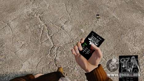 Temas de Rock gótico para su teléfono para GTA 4 novena de pantalla