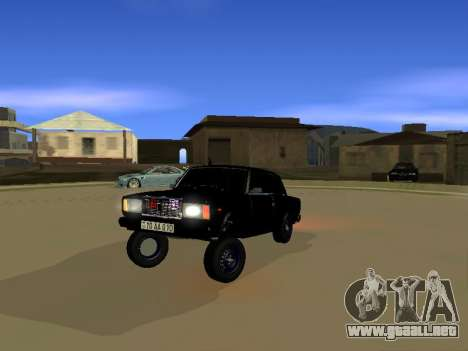 ВАЗ 2107 para GTA San Andreas left
