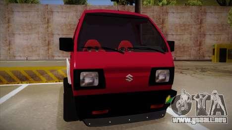 Suzuki Carry Drift Style para GTA San Andreas left