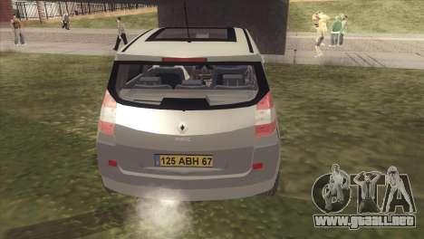 Renault Scenic 2 para la visión correcta GTA San Andreas