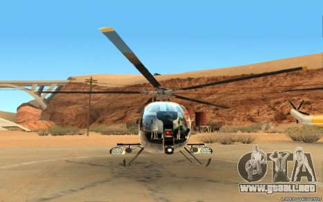 Buzzard Attack Chopper para GTA San Andreas left