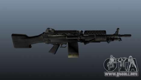 La ametralladora M249 ligera para GTA 4 tercera pantalla