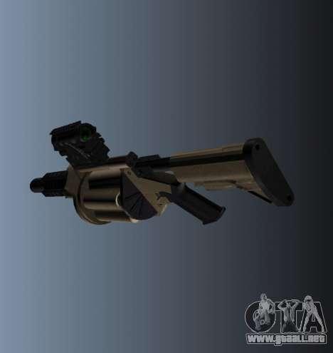 Lanzador de granadas MGL-MK1 para GTA 4 segundos de pantalla