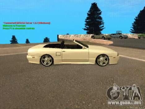 New Elegy para GTA San Andreas vista hacia atrás