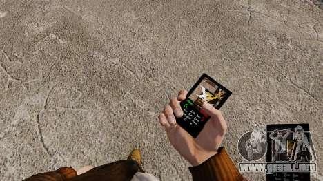 Temas para las marcas de teléfono ropa para GTA 4 adelante de pantalla
