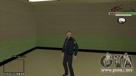 Pak SAPD pieles para GTA San Andreas séptima pantalla
