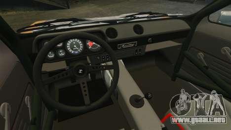 Ford Escort Mk1 Rust Rod para GTA 4 vista hacia atrás
