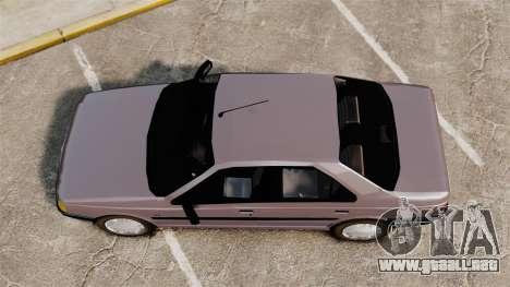 Peugeot 405 GLX para GTA 4 visión correcta
