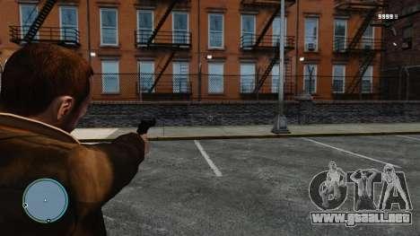 Retículo Call of Juarez: Bound in Blood para GTA 4