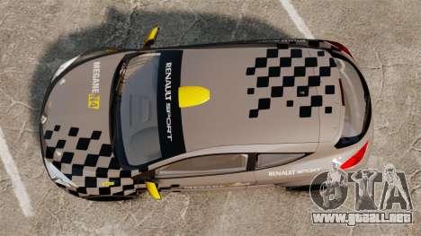 Renault Megane RS N4 para GTA 4 visión correcta