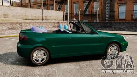 Daewoo Lanos 1997 Cabriolet Concept v2 para GTA 4 left