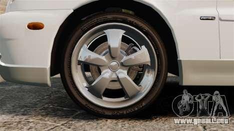 Daewoo Lanos GTI 1999 Concept para GTA 4 vista hacia atrás