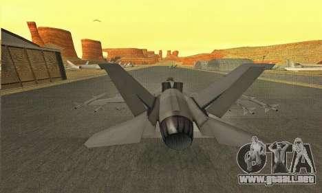 Hydra GTA V para la visión correcta GTA San Andreas