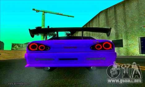 Elegy DC v2 para GTA San Andreas vista posterior izquierda