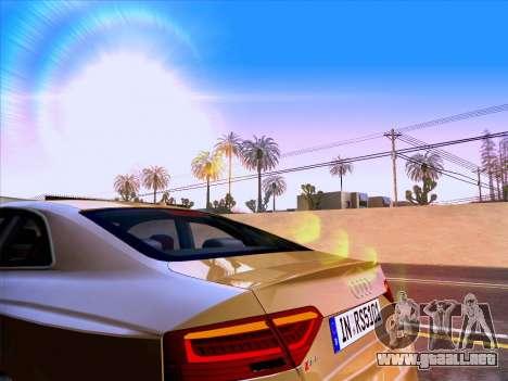 Audi RS5 2012 para la vista superior GTA San Andreas