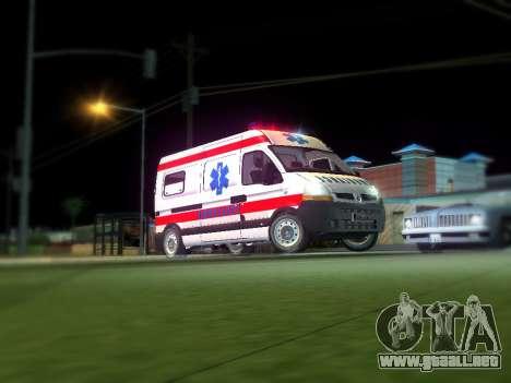 Renault Master ambulancia Serbio para GTA San Andreas